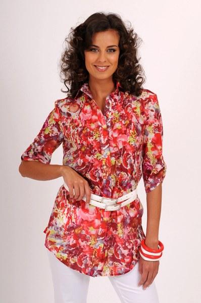 Блузка для полных своими руками фото