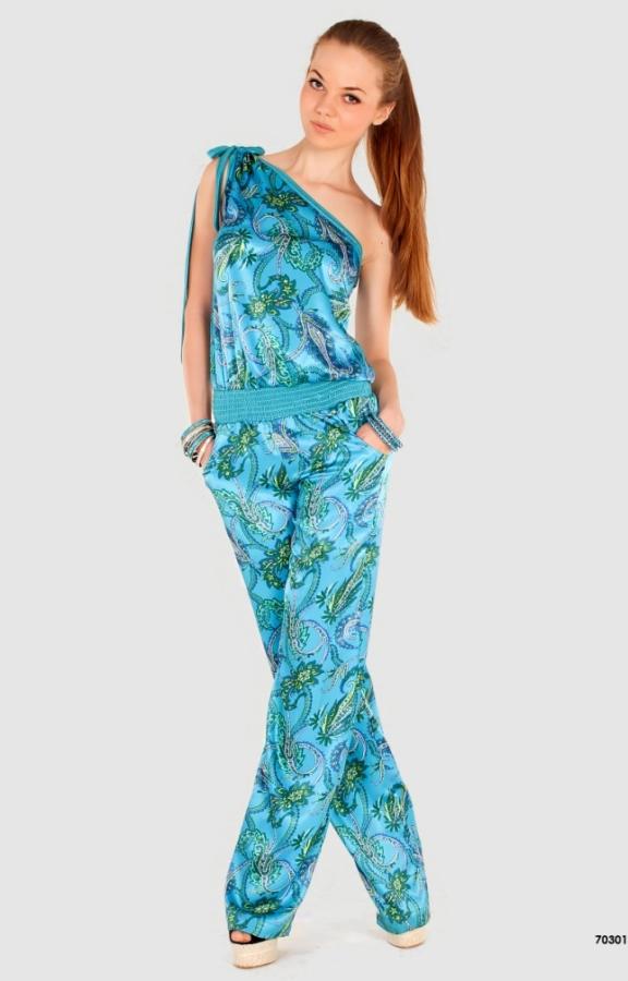 Фасон летнего трикотажного платья