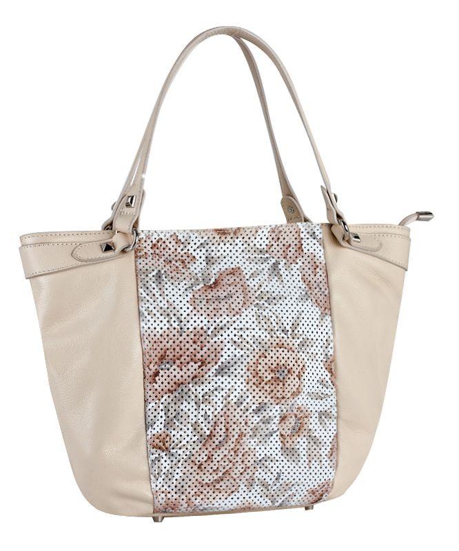 Летняя женская сумка ELEGANZZA из натуральной кожи